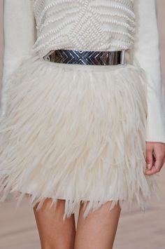 sass & bide//spring 2013 My hips are too big to wear anything that adds volume, but this is awesome nonetheless!