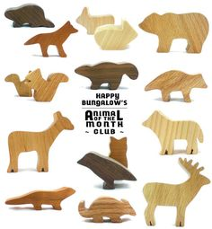 Woodland Animal Toy Subscription (12 Months)