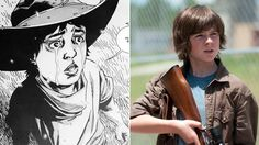 Rick's son Carl has been played by Chandler Riggs since the series premiered. The character's evolution continues to be one of the focal points in Robert Kirkman's comic series.