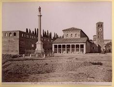 Roma. Basilica di San Lorenzo fuori le mura 1875-1890