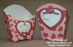 """bing images stampin up fry boxes   Free Printable – Valentine """"French Fry"""" Treat Box"""