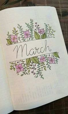 Creative Bullet Journal Ideas Inspiration (How To Start A Page Layout Juorna. - Creative Bullet Journal Ideas Inspiration (How To Start A Page Layout Juornal Weekly Spread) - Bullet Journal Inspo, Bullet Journal Simple, Minimalist Bullet Journal, March Bullet Journal, Bullet Journal Spread, Bullet Journal Title Page, Beginner Bullet Journal, Bullet Journal How To Start A Layout, Bullet Journal Layout Ideas