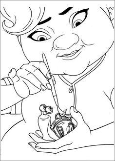 Dibujos para Colorear. Dibujos para Pintar. Dibujos para imprimir y colorear online. Turbo 17