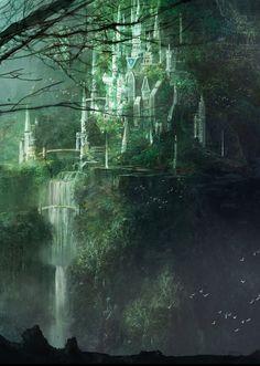Overlooking Tree City by Jan He