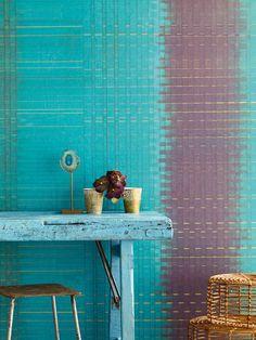 Новая потрясающая коллекция обоев SUNDARI от голландской фирмы EIJFFINGER... New magnificent wallpaper collection SUNDARI from EIJFFINGER of Holland...