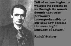 Rudolf Steiner's quote #1