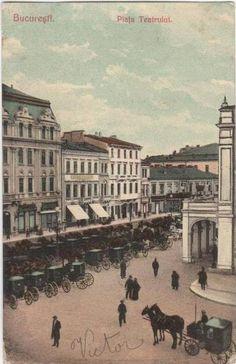 BUCURESTI - Piata Teatrului - inceput de secol