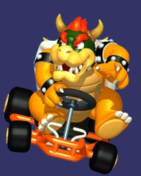 Mario Kart 64 Artwork including Cup Icons, Concept Art, Character ...