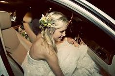 small flowers in hair bride - Google Search