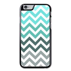 Grey And Blue Chevron Pattern Phonecase For iPhone 6/6S Case