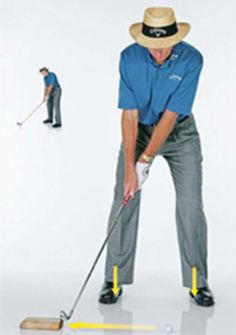 Golf Swing David Leadbetter: Get More Distance Out Of The Ground - 3 power moves the pros make that you don't. Golf Tips Driving, Golf Score, Golf Putting Tips, Woods Golf, Golf Instruction, David, Golf Tips For Beginners, Golf Player, Perfect Golf