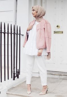 Pastell colors are back! Spring is just around the corner #modesty #hijab #style #fashion