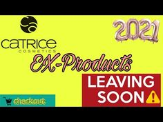 Catrice EX-Products /Auslistungen | Leaving SOON ⚠️ 2021 - YouTube Channel, Leaves, Logos, Youtube, Products, Logo, Youtubers, Gadget, Youtube Movies