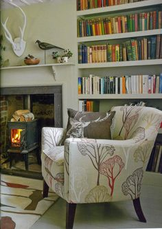Beautifully styled and photographed interior in my favourite magazine Country Homes & Interiors