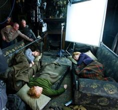 napping on the potter set