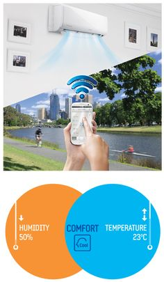 SAMSUNG SMART AIR CONDITIONERS FEATURES WI-FI, LETS YOU CONTROL AIR CONDITIONING FROM IPHONE AND ANDROID [VIDEO]  Posted on Dec 9, 2012    The luxury house of the X Factor's Savan Kotecha illustrated just how much of the world we now haveat our fingertips. A music producer for the hit TV talent show, he's really kitted his pad out, and a large portion of his gadgets – including electric blinds, cameras and door locks – are all controlled from the comfort of his iPad. Although he ...