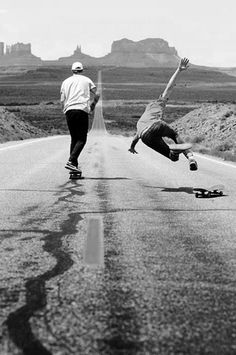 skateboard, that would be me on the right...