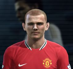 Tunnicliffe face for Pro Evolution Soccer 2012