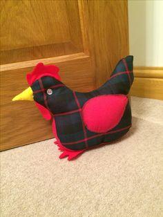 Chicken doorstop
