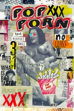 POP PORN: WHAT IS BAD TASTE? by Marcos Faunner, via Behance