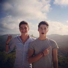 Finn & Jack Harries