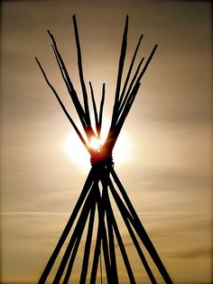 Native American Sunset by Rodsflickr, via Flickr