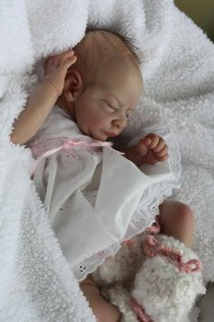 Incredababies Reborn Baby Girl Doll Heavenly Prototype Newborn Nicole Russell