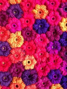 Watch The Video Splendid Crochet a Puff Flower Ideas. Phenomenal Crochet a Puff Flower Ideas. Crochet Puff Flower, Crochet Flower Patterns, Crochet Flowers, Unique Crochet, Easy Crochet, Flower Tutorial, Learn To Crochet, Slip Stitch, Repeating Patterns