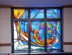 Kessler Studios Stained Glass- Central DuPage Hospital Chapel