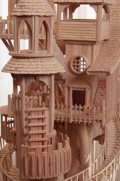 Деревянные домики от Роба Херда (Rob Heard). (21 фото)