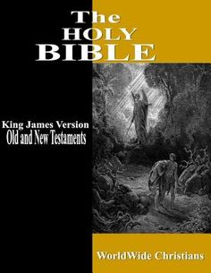 The GREATEST book ever written! The Holy Bible King James Version Contains the Old and New Testaments.
