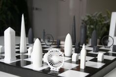 Kickstarter: London Skyline Reimagined as Chess Set