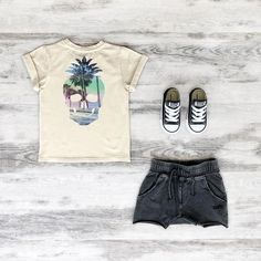 Rock Your Kid Tropical Skull Tee (back), Smash Shorts & Classic Chucks  www.tinystyle.com.au  #boysfashion #boysclothes #coolkidsclothes #rockyourbaby #rockyourkid #kidsconverse #conversekids #chucks #kidschucks #tinystyle #noosa Toddler Boy Outfits, Toddler Boys, Cool Kids Clothes, Kids Converse, Our Baby, Boy Fashion, Watermelon, What To Wear, Skull