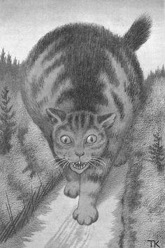 Theodor Kittelsen, cat