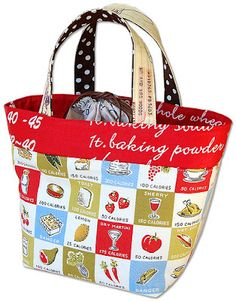 Free Lunch Tote Pattern and Tutorial