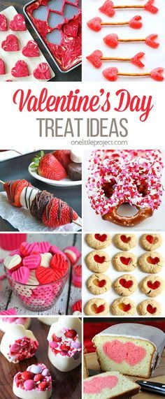 Valentine's Day has the BEST treat and dessert choices! These look amazing.