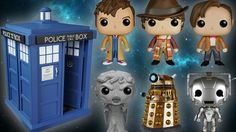 DOCTOR WHO Pop! Vinyls Are Heading Into Time and Space « Nerdist