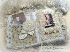 ArtJoyStuff: Fabric And Lace Journal - Part 5 - The Finished Journal