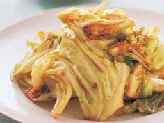 キャベツのピリ辛炒めレシピ 講師はウー ウェンさん 使える料理レシピ集 みんなのきょうの料理 NHKエデュケーショナル