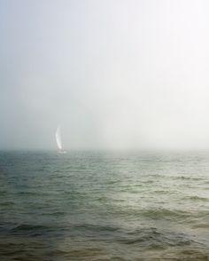 TITLE: Ocean Mist  DESCRIPTION: Misty morning in Maine.  by Jane Heller
