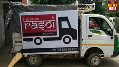 Rasoi on Wheels : serve the choicest of meals free to the underprivileged.