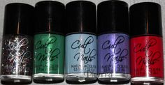 Cult Nails Cult Fairy Tales Collection Swatches and Review. Click through to read!