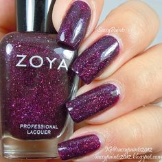 Sassy Paints: Zoya Payton from the Zenith Winter-Holiday Collection