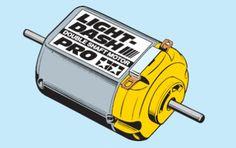 Tamiya mini 4WD parts light dash motor PRO