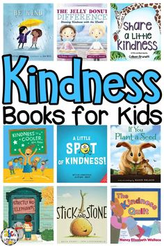 Reading these Kindness Books for Kids is a great way to teach your children how to spread kindness to others.