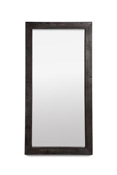 Чёрное настенное зеркало Агат