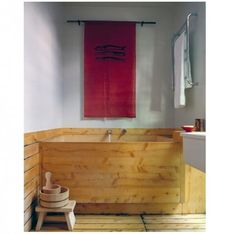 Steal This Look: Japanese-Inspired Bathroom, Soaking Tub Included