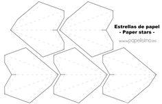 Plantilla-estrellas-de-papel-cinco-puntas