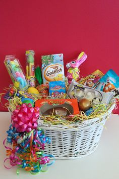 Easter gift baskets kmart gallery gift and gift ideas sample take the kmart build a basket on a budget challenge with me look take the kmart negle Choice Image
