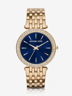 b10b13c07d81 Darci Pavé Gold-Tone Watch